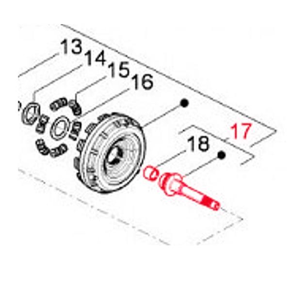Antriebswelle PIAGGIO Kupplung für PIAGGIO Beverly/MP3/X10 350ccm 4T LC für PIAGGIO Beverly/MP3/X10 350ccm 4T LC-