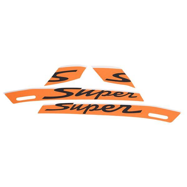 Aufkleberdekorset PIAGGIO -Super- für Vespa GTS Super Sport 125-300ccm für Vespa GTS Super Sport 125-300ccm-