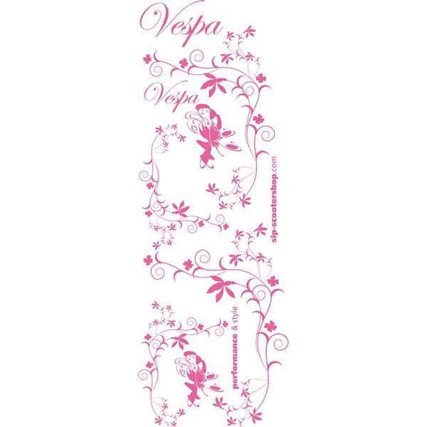 Aufkleberdekorset SIP -Flower- für Vespa für Vespa-