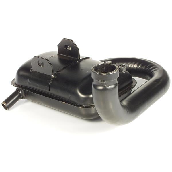 Auspuff SITO für Vespa P80-150X-PX80-150E-Lusso-MY-P150S für Vespa P80-150X-PX80-150E-Lusso-MY-P150S-