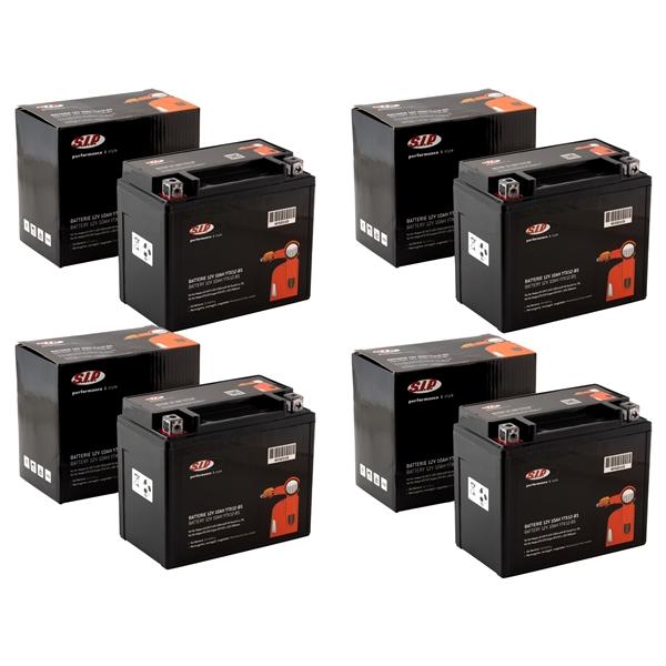 Batterie SIP 12V-10Ah- YTX12-BS für Vespa LX-LXV-S 125-150ccm 4T AC Euro3-i.e.-3V 50-200ccm 2T-4T AC-LC für Vespa LX-LXV-S 125-150ccm 4T AC Euro3-i.e.-3V 50-200ccm 2T-4T AC-LC-