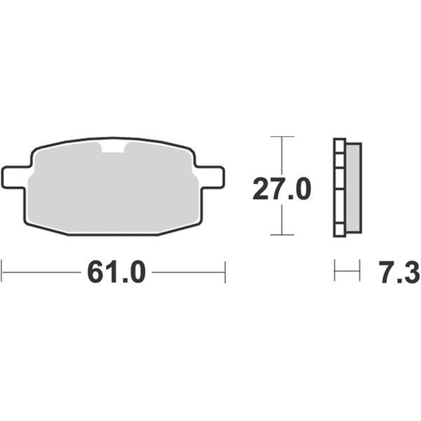 Bremsbeläge GALFER SPORT S17  -