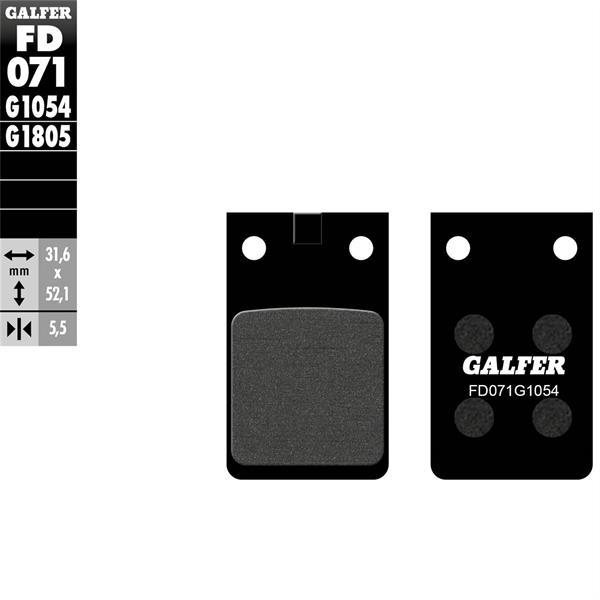 Bremsbeläge GALFER Sport S26  -