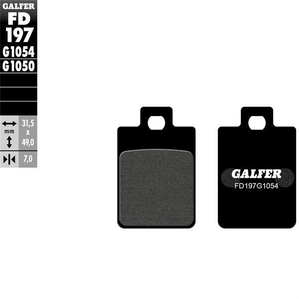 Bremsbeläge GALFER SPORT S29