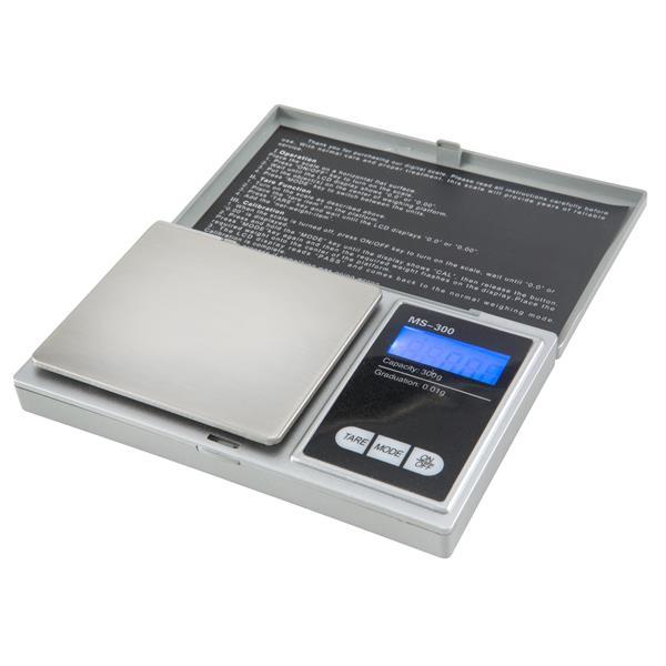 Digital Waage 0-01-300gr Variatorrollen  -