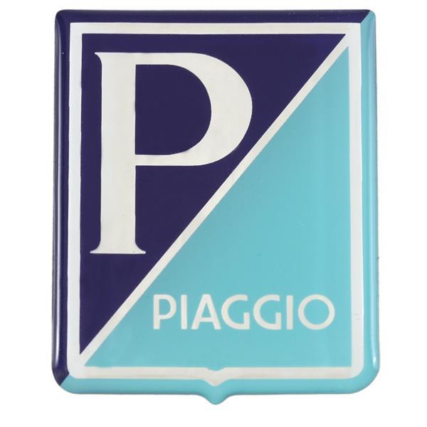 Emblem -PIAGGIO- für Vespa 125 GT-Sprint-Super - 1967 -150 VBA-VBB-GL-GS VS5-Sprint-Super -1967 -160 GS-180SS für Vespa 125 GT-Sprint-Super - 1967 -150 VBA-VBB-GL-GS VS5-Sprint-Super -1967 -160 GS-180SS-