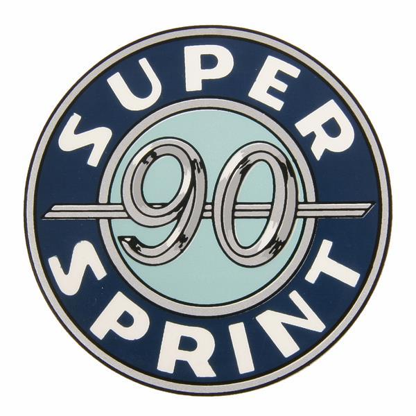 Emblem -SUPER SPRINT 90- für Vespa 90 SS-V9SS1T 4544 - für Vespa 90 SS-V9SS1T 4544 -