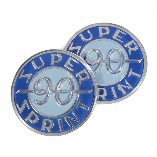 Emblem -SUPER SPRINT 90- für Vespa SS90 für Vespa SS90-