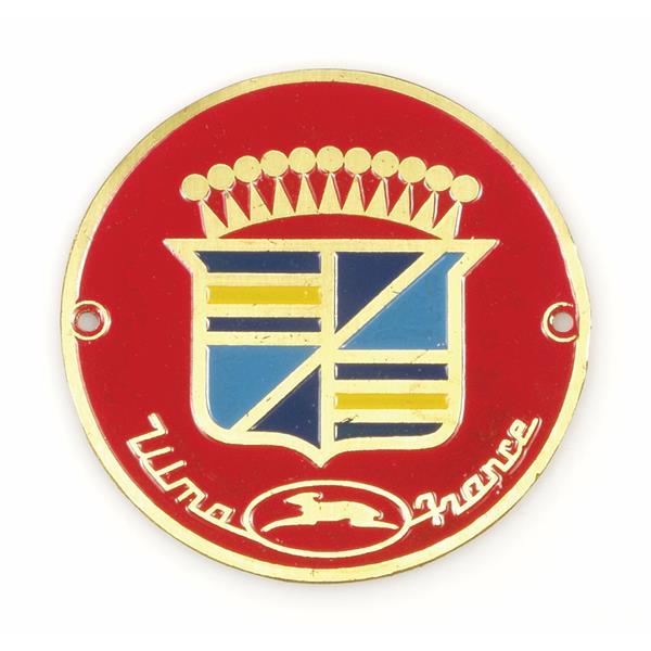 Emblem -ULMA France- Beinschild-Radkappe  -