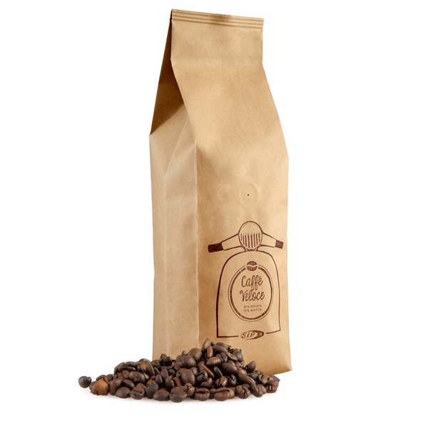 Espressobohnen Caffe Veloce mit Motiv Vespa Motorroller  -