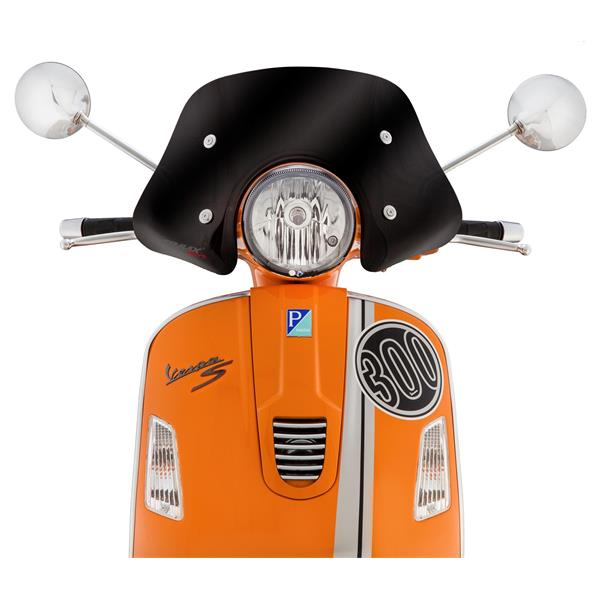 Flyscreen ERMAX Piccolo für Vespa GTS-GTS Super-GT-GT L 125-300ccm für Vespa GTS-GTS Super-GT-GT L 125-300ccm