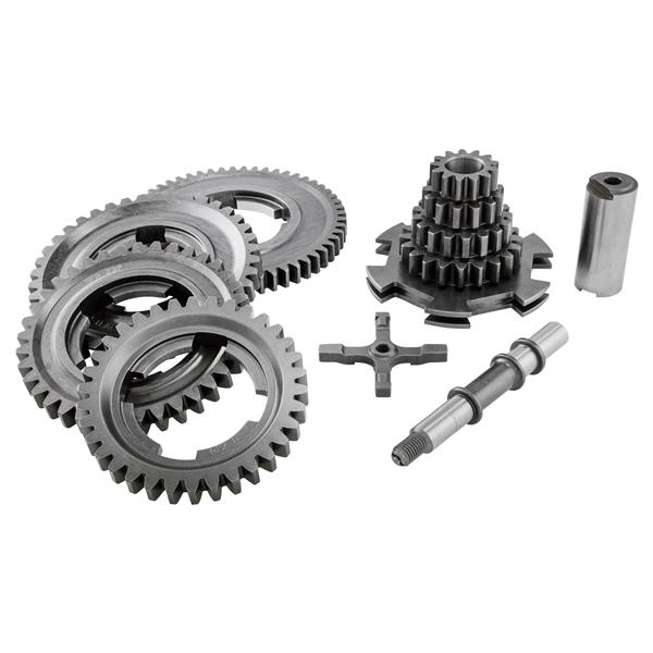 Getriebekit Z 20-17-13-13- 56-40-37-34 BENELLI 4-Gang für Vespa 125 VN-VM-150 VL-VB1 für Vespa 125 VN-VM-150 VL-VB1-