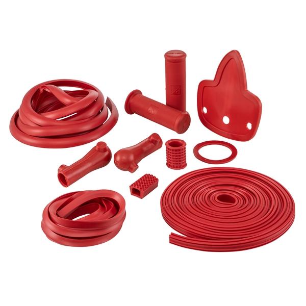 Gummi Kit für Vespa 125 VNB1-5-150 VBB-GS VS5-160 GS für Vespa 125 VNB1-5-150 VBB-GS VS5-160 GS-