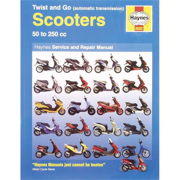 Handbuch -Scooters- 50 to 250cc Service und Repair Manual  -