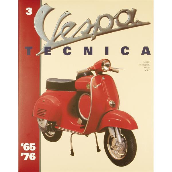 Handbuch -Vespa Tecnica 3- 1965-1976  -