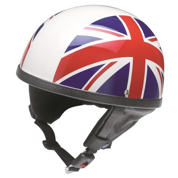 Helm REDBIKE RB 500 UK-Style Halbschale Halbschale