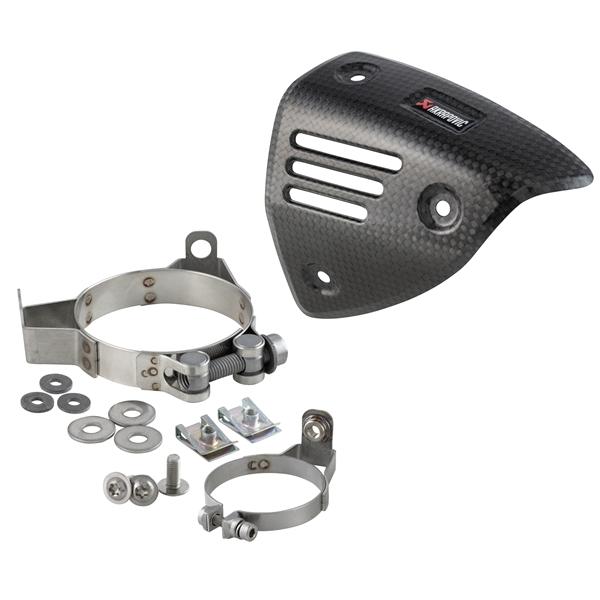 Hitzeschild AKRAPOVIC Krümmer- für Rennauspuff AKRAPOVIC für Vespa GTS-GTS Super-GTV-GT 60 125-300ccm i.e. 4T LC für Vespa GTS-GTS Super-GTV-GT 60 125-300ccm i.e. 4T LC-