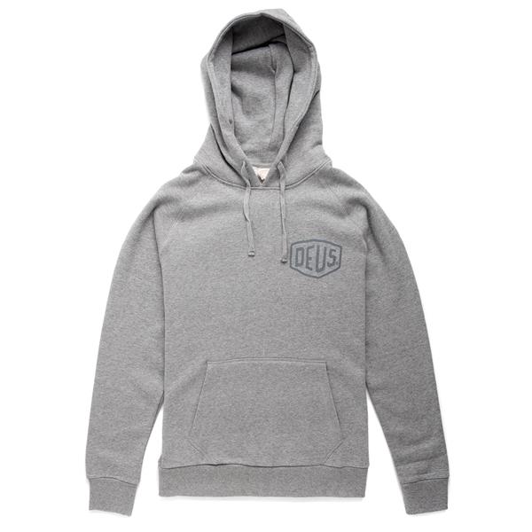 Kapuzen-Sweatshirt-Hoodie DEUS Milan Address Grösse: XL für Männer für Männer-