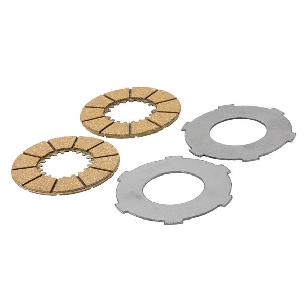 Kupplungsbeläge FERODO für Vespa 98-125 V1-15T-V30-33T-Ape A1-15T für Vespa 98-125 V1-15T-V30-33T-Ape A1-15T-