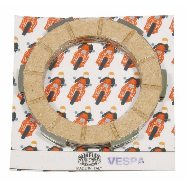 Kupplungsbeläge SURFLEX für Vespa 50-125-PV-ET3-PK50-125-S-XL für Vespa 50-125-PV-ET3-PK50-125-S-XL-