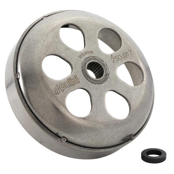 Kupplungsglocke POLINI Speed Bell für Vespa ET4-LX-LXV-S-GTS-GTS Super-GTV-GT 60-GT-GT L 125-300ccm- 4T- AC-LC für Vespa ET4-LX-LXV-S-GTS-GTS Super-GTV-GT 60-GT-GT L 125-300ccm- 4T- AC-LC-