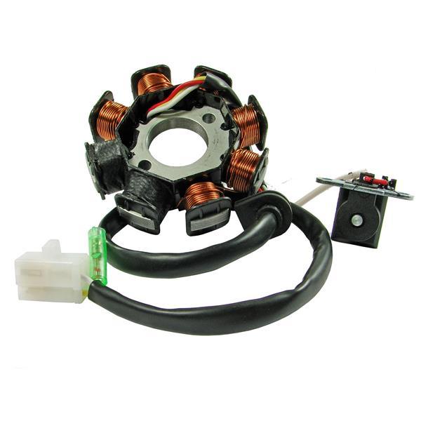 Lichtspule 2- GY6 für GY6 139QMB-QMA 50ccm 4T AC für GY6 139QMB-QMA 50ccm 4T AC-