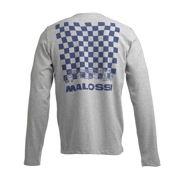 Longsleeve Shirt MALOSSI GRIFFE Pattern Logo Grösse: L Unisex Unisex