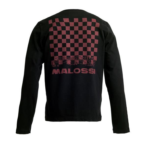 Longsleeve Shirt MALOSSI GRIFFE -Pattern Logo- Grösse: S Unisex Unisex-