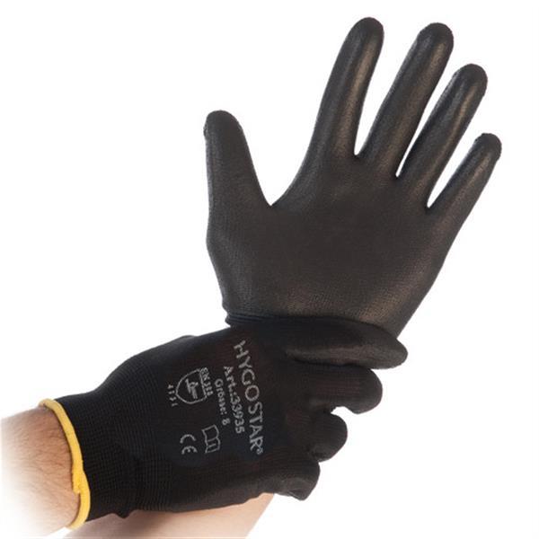 Mechaniker-Handschuhe HygoStar Grösse: 6/XS Unisex Unisex-