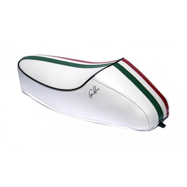 Monositzbank -Tricolore Italy Mezzo- für Vespa 50-125-PV-ET3 für Vespa 50-125-PV-ET3-