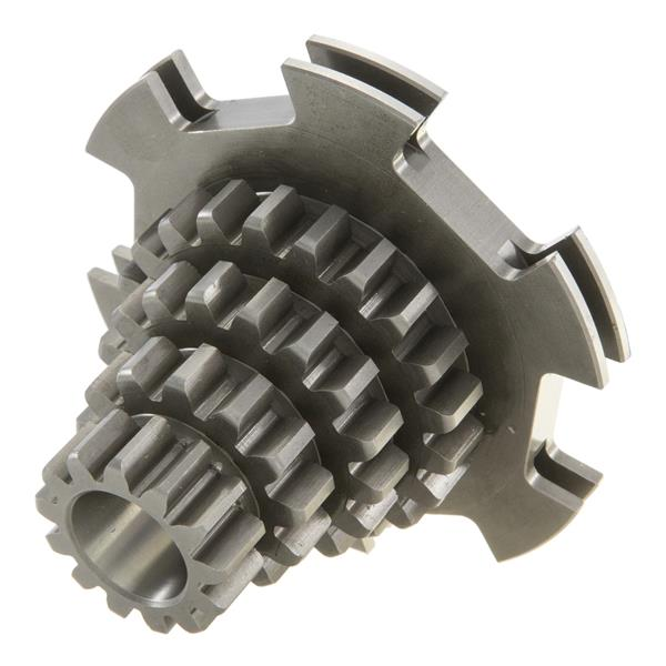 Nebenwelle Zahnradsatz Z 21-17-13-13 DRT 807 4-Gang für Vespa 125 VN-VM-150 VL-VB1 für Vespa 125 VN-VM-150 VL-VB1-