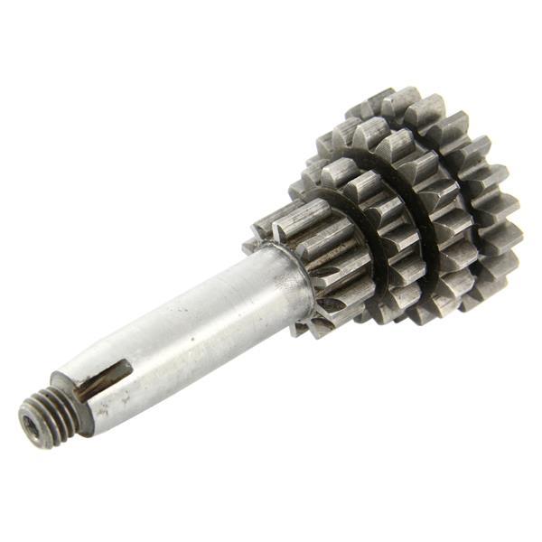 Nebenwelle Zahnradsatz Z 21-18-14-10 4-Gang/PK DRT -kurzer 4. Gang- für Vespa 50 S 2-/Special V5B3-4T/SR/SS/90 R/SS/100 2-/125/PV/ET3/PK50-125/S/XL/XL2 für Vespa 50 S 2-/Special V5B3-4T/SR/SS/90 R/SS/100 2-/125/PV/ET3/PK50-125/S/XL/XL2-