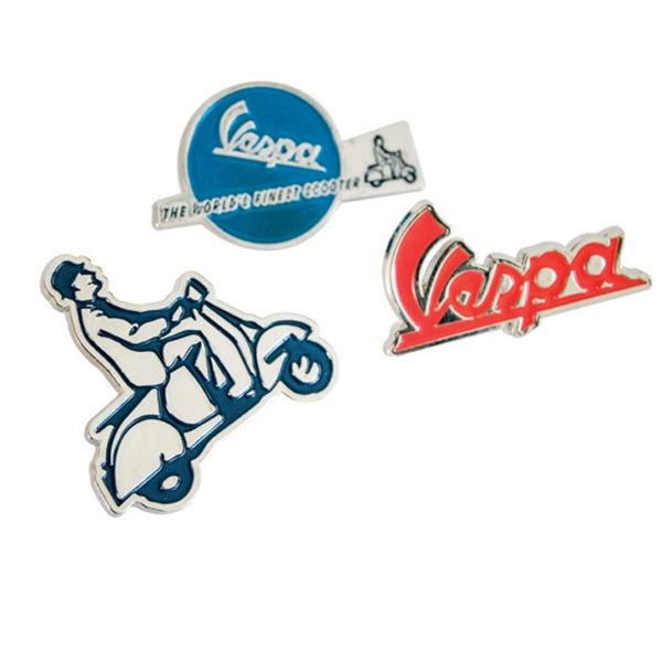 Pin Set FORME VESPA -Finest Scooter-  -