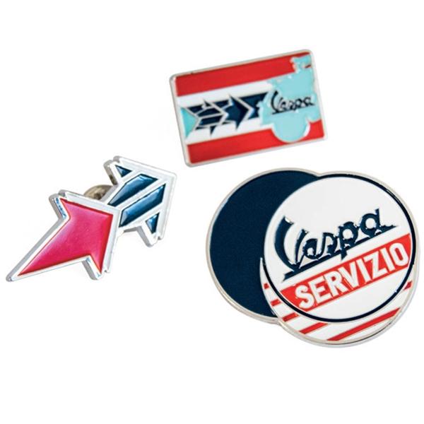 Pin Set FORME Vespa Servizio  -