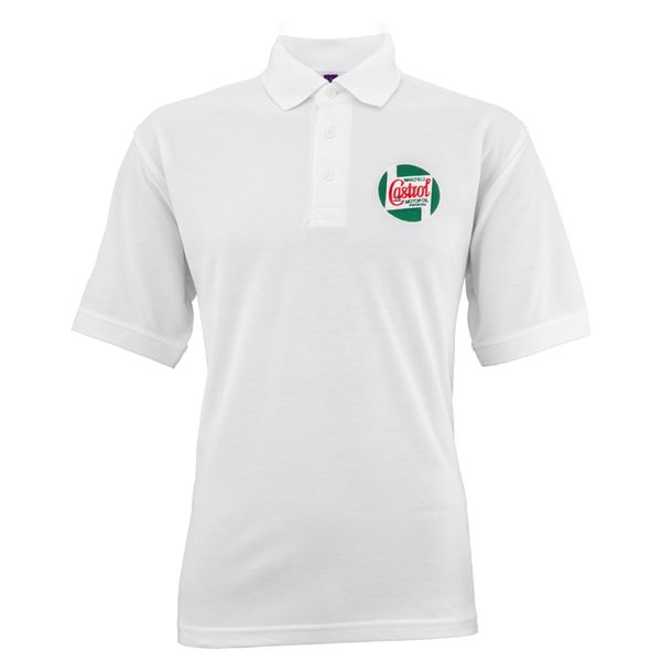 Polo-Shirt CASTROL CLASSIC Grösse: M Unisex Unisex-