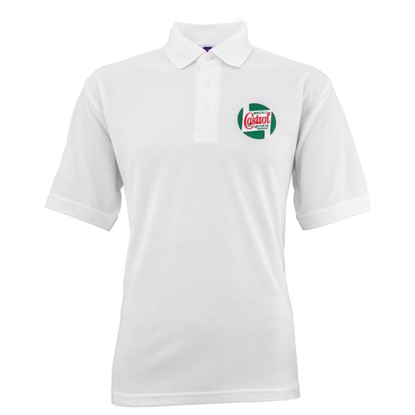 Polo-Shirt CASTROL CLASSIC Grösse: S Unisex Unisex-
