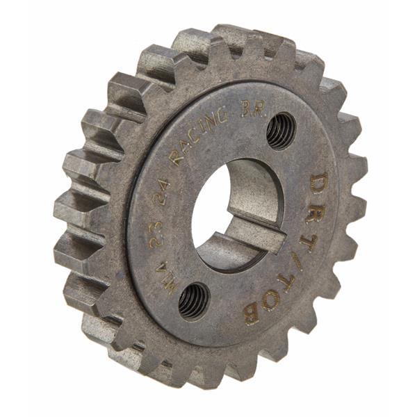 Primärzahnrad Z 23 (23-56-2-43) für M-200ccm QUATTRINI Zylinder DRT TOB für Vespa 50-125-PV-ET3-PK50-125-S-XL-XL2 für Vespa 50-125-PV-ET3-PK50-125-S-XL-XL2-