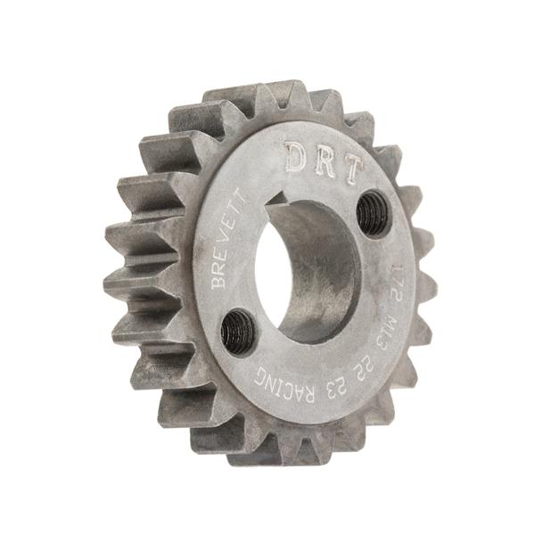 Primärzahnrad Z 23 (23-72-3.15) für 75-102ccm Zylinder DRT für Vespa 50-90-R-SS-100-PK50-100-S-XL-XL2 für Vespa 50-90-R-SS-100-PK50-100-S-XL-XL2-