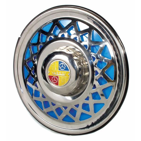 Radkappe -Krone- für offene 8- Felge für Vespa 125-150 Super/P150S für Vespa 125-150 Super/P150S-