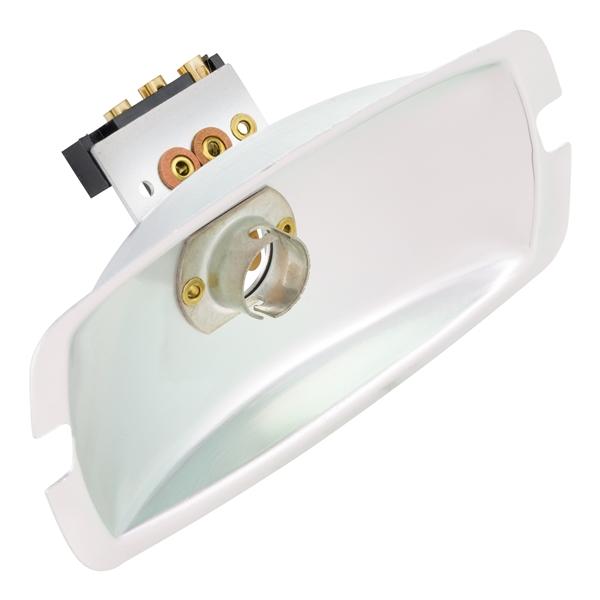 Reflektor Rücklicht für Lambretta 125 LI 3-/LIS/150 LI3-/LIS/SX/175 TV 3-/200 TV/SX für Lambretta 125 LI 3-/LIS/150 LI3-/LIS/SX/175 TV 3-/200 TV/SX-