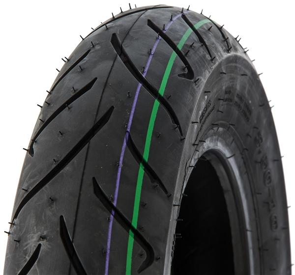 Reifen DUNLOP ScootSmart 130-70 -10- 62J TL-TT M-C vorne und hinten vorne und hinten-