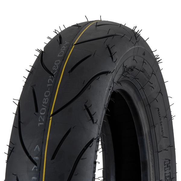Reifen HEIDENAU K80 SR SRM2 Rennreifen 120-80 -12- 65M TL vorne und hinten vorne und hinten-