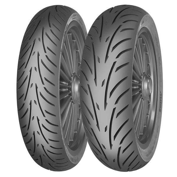 Reifen MITAS TOURING FORCE-SC 90/90 -10- 50J TL vorne und hinten vorne und hinten-