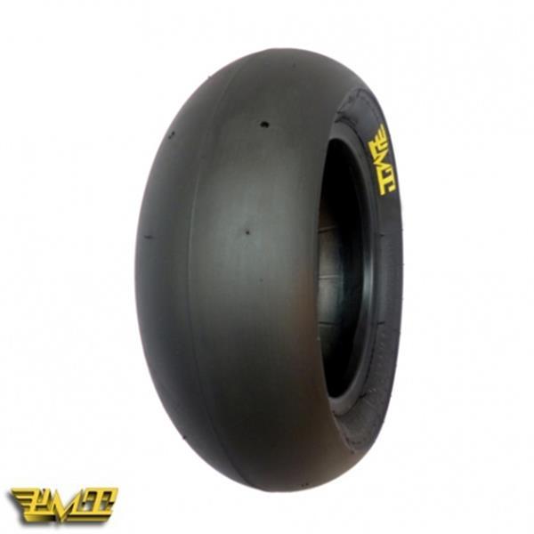 Reifen PMT Tyres Minimoto T40 Slick 110/55R -6.5- TL vorne und hinten vorne und hinten-