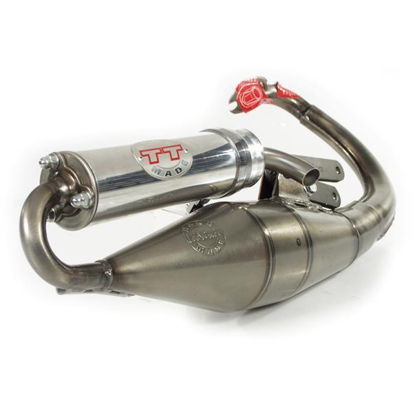 Rennauspuff LEOVINCE Handmade TT für APRILIA SR2004 für PIAGGIO für APRILIA SR2004 für PIAGGIO-