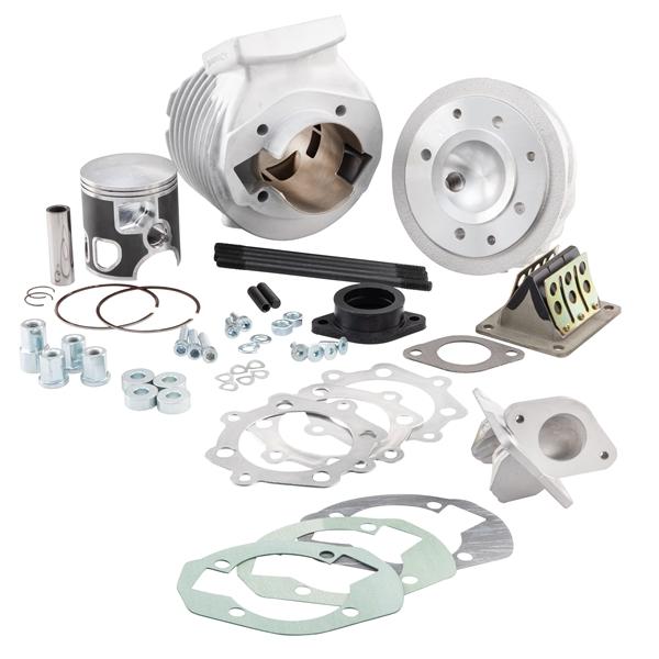 Rennzylinder CasaPerformance SS 200 ccm für Lambretta 125 LI-Special-DL-GP-150 LI-Special-SX-DL-GP-175 TV für Lambretta 125 LI-Special-DL-GP-150 LI-Special-SX-DL-GP-175 TV-