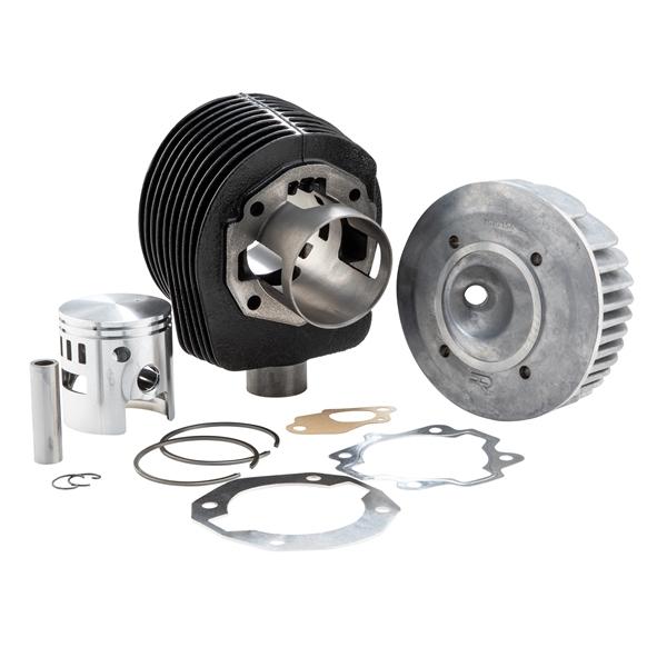 Rennzylinder D-R- by SIP 177 ccm für Vespa 125 VNB-GT-GTR 1-Super-150 VBA-VBB-T4-GL-Sprint 1-Super 1- für Vespa 125 VNB-GT-GTR 1-Super-150 VBA-VBB-T4-GL-Sprint 1-Super 1-
