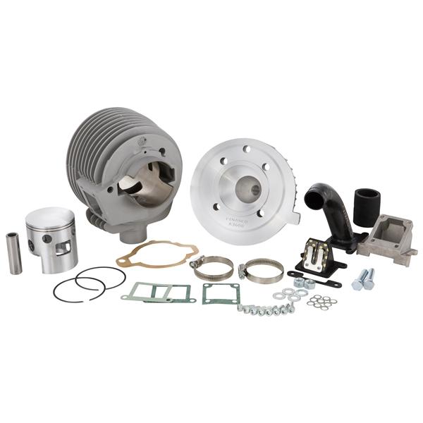 Rennzylinder Kit PINASCO Farobasso Lamellare 160 ccm für Vespa 125 VM-VN-ACMA-150 VB-VGL1-VL für Vespa 125 VM-VN-ACMA-150 VB-VGL1-VL-