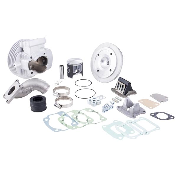 Rennzylinder PARMAKIT Challenger ECV 130 ccm für Vespa 50-125-PV-ET3-PK-S-XL-2 für Vespa 50-125-PV-ET3-PK-S-XL-2-