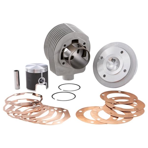 Rennzylinder PARMAKIT TSV ECV 177 ccm für Vespa 125 GTR 2-TS-150 Sprint 2-V-Super 2-PX125-150-PE-Lusso-Cosa für Vespa 125 GTR 2-TS-150 Sprint 2-V-Super 2-PX125-150-PE-Lusso-Cosa-